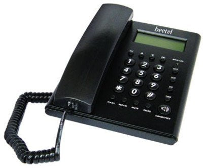 Beetel M52 CLI Corded Phone Black