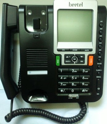 Beetel M71 Grey Black Corded Landline Phone