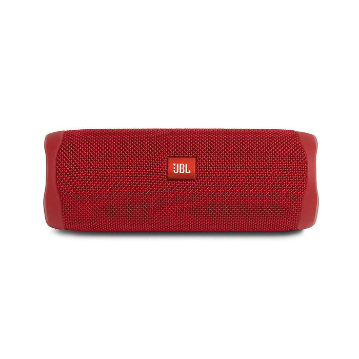 JBL Flip 5 20 W IPX7 Waterproof Bluetooth Speaker with PartyBoost (Without Mic, Red)