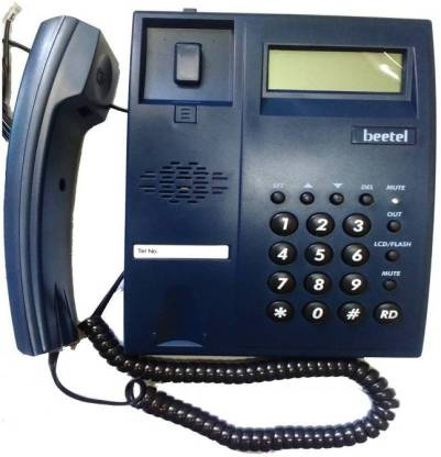 Beetel M51 Corded Phone BLUE