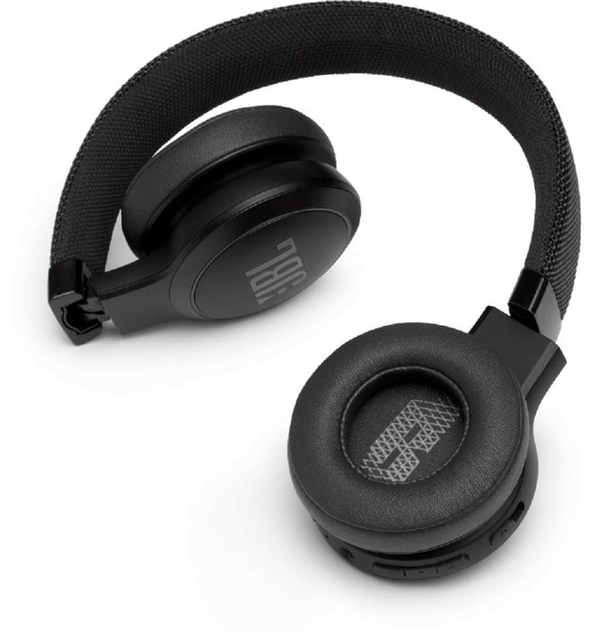 JBL Live 400BT Wireless On-Ear Voice Enabled Headphones with Alexa (Black)