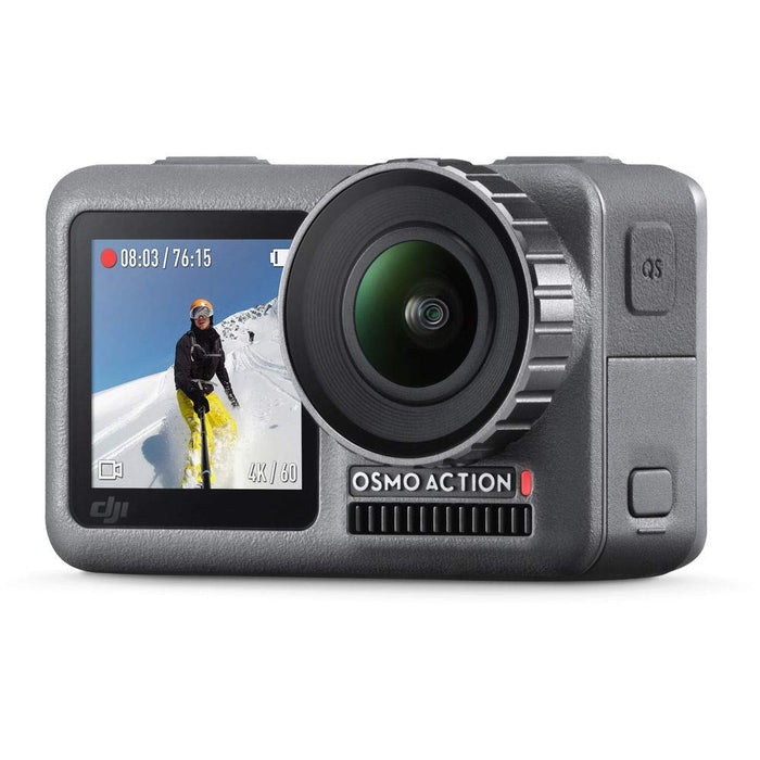 DJI OSMO Action - Dual Display Waterproof Digital Action Camera with 4K HD Video 12MP