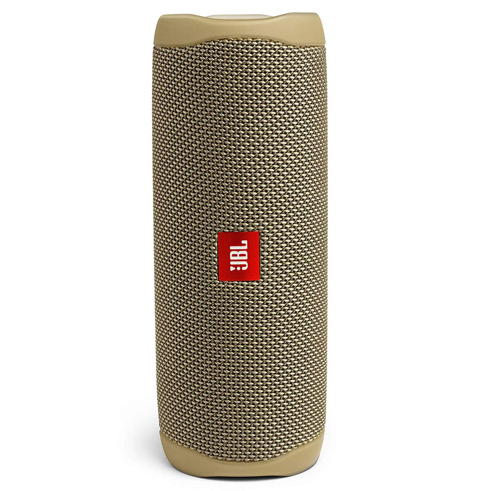 JBL Flip 5 20 W IPX7 Waterproof Bluetooth Speaker with PartyBoost (Without Mic, Sand)