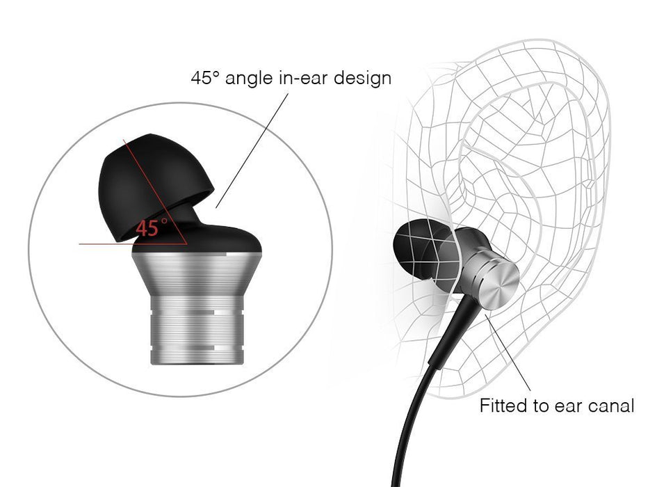 1MORE Piston Fit Earphones with MIC-Silver