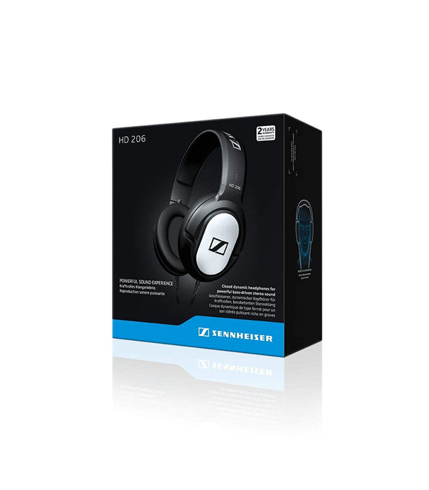 Sennheiser HD 206 Headphones (Black)