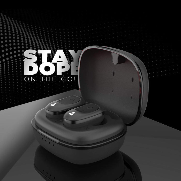boAt Airdopes 201 True Wireless Earbuds with Up to 15H Total Playback (Active Black)