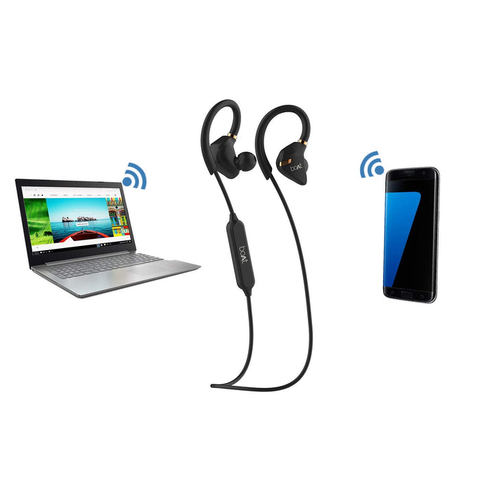 Boat Rockerz 315 Wireless Earphone with Mic - (Active Black)