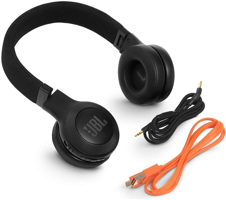 JBL E45BT Signature Sound Wireless On-Ear Headphones with Mic (Black)
