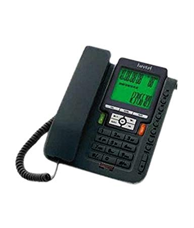 Beetel M71 Corded Landline Phone Black