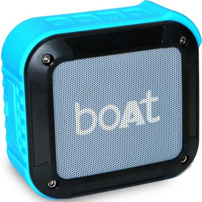 boAt Stone 210 3 W Bluetooth Speaker  (Blue, Mono Channel)