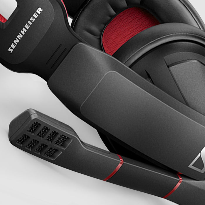 Sennheiser GSP 350 Gaming Headphones (Black/Red)