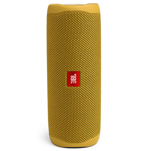 JBL Flip 5 20 W IPX7 Waterproof Bluetooth Speaker with PartyBoost (Without Mic, Yellow)