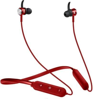 boAt Rockerz 275v2 Wireless Bluetooth Headset (RED )