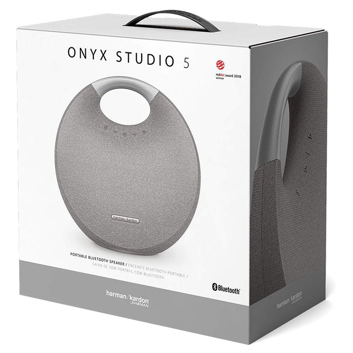 Harman Kardon Onyx Studio 5 Bluetooth Wireless Speaker Grey