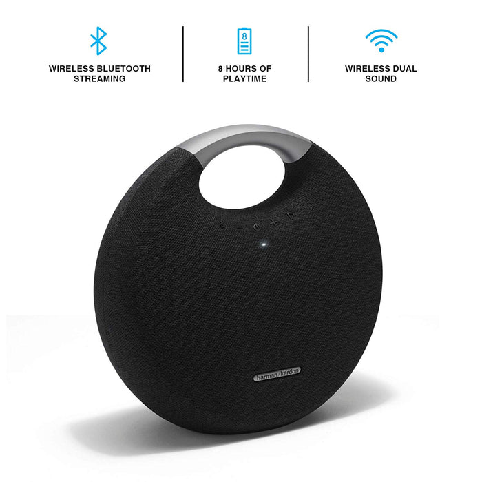 Harman Kardon Onyx Studio 5 Bluetooth Wireless Speaker Black