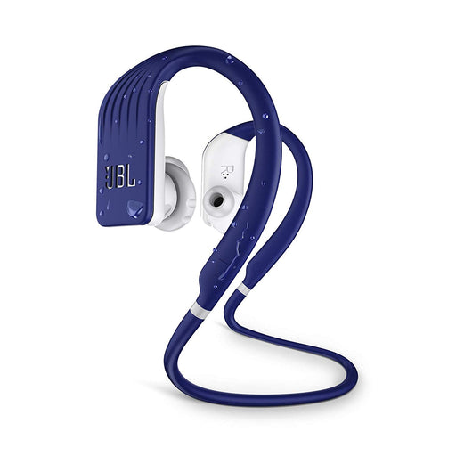 JBL Endurance Jump Waterproof Wireless Sport in-Ear Headphones with One-Touch Remote (Blue)