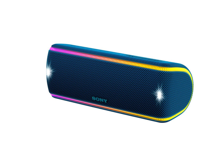 Sony SRS-XB31 Extra Bass Portable Waterproof Wireless Speaker with Bluetooth and NFC (Blue)