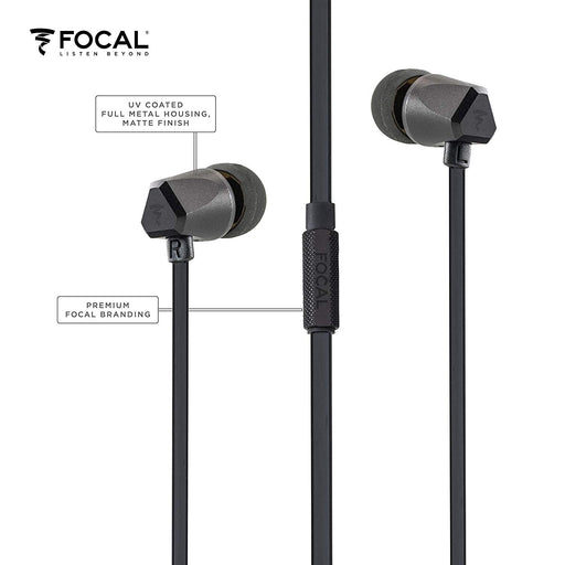 FOCAL Sense INEAR Earphone (Black)
