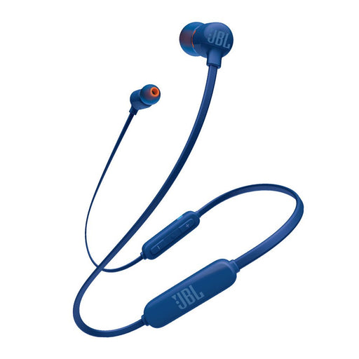 JBL Tune 110BT Pure Bass Wireless in-Ear Headphones with Mic (Blue)