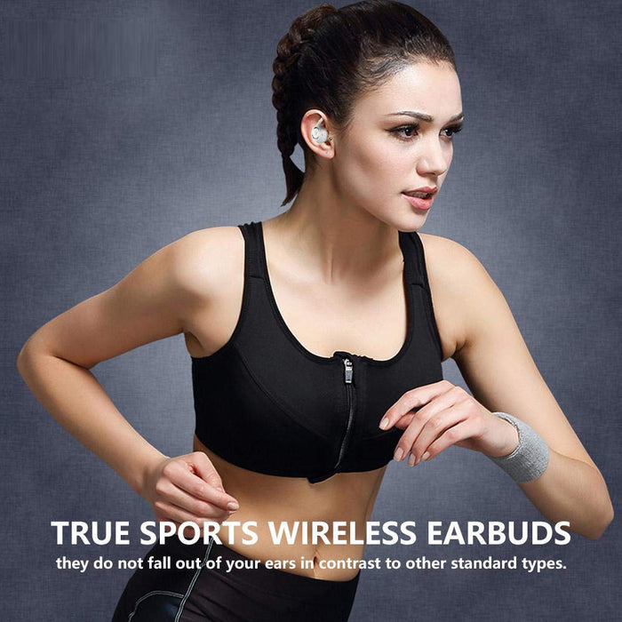 HiFuture OlymBuds - TWS Earbuds with Upto 20 hrs Combined Playback, IPX5 Waterproof - White