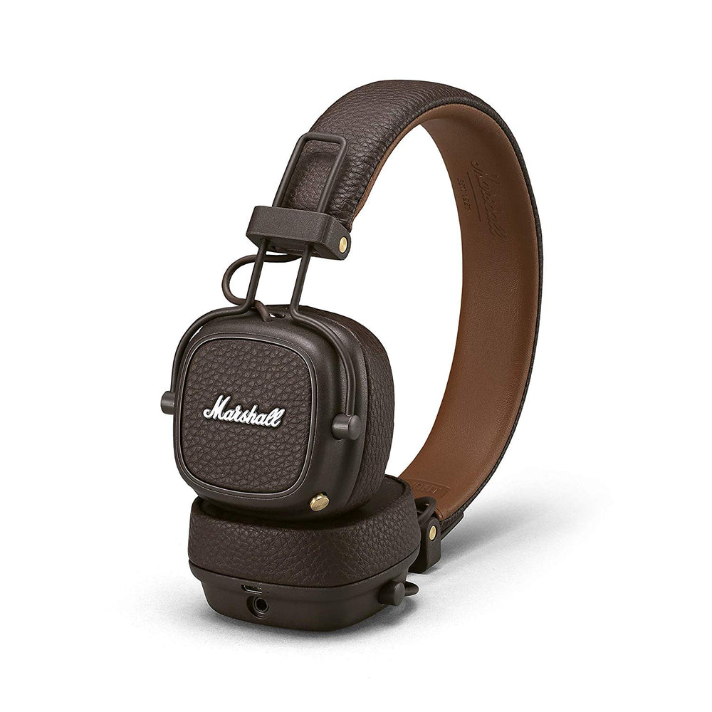 Marshall Major III Bluetooth Wireless On-Ear Headphones (Brown)