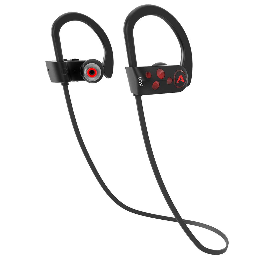 boAt Rockerz 261 Sport Wireless Earphones (Raging Red)
