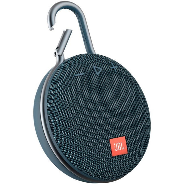JBL Clip 3 Ultra-Portable Wireless Bluetooth Speaker with Mic
