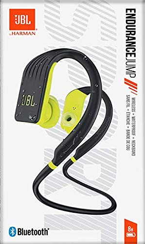 JBL Endurance Jump Waterproof Wireless Sport in-Ear Headphones with One-Touch Remote