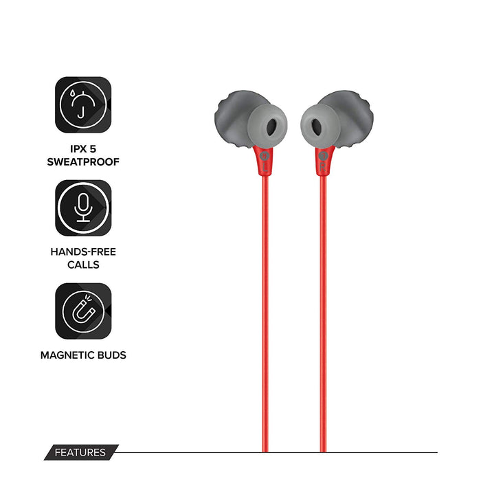 JBL Endurance Run Sweat-Proof Sports in-Ear Headphones with One-Button Remote and Microphone