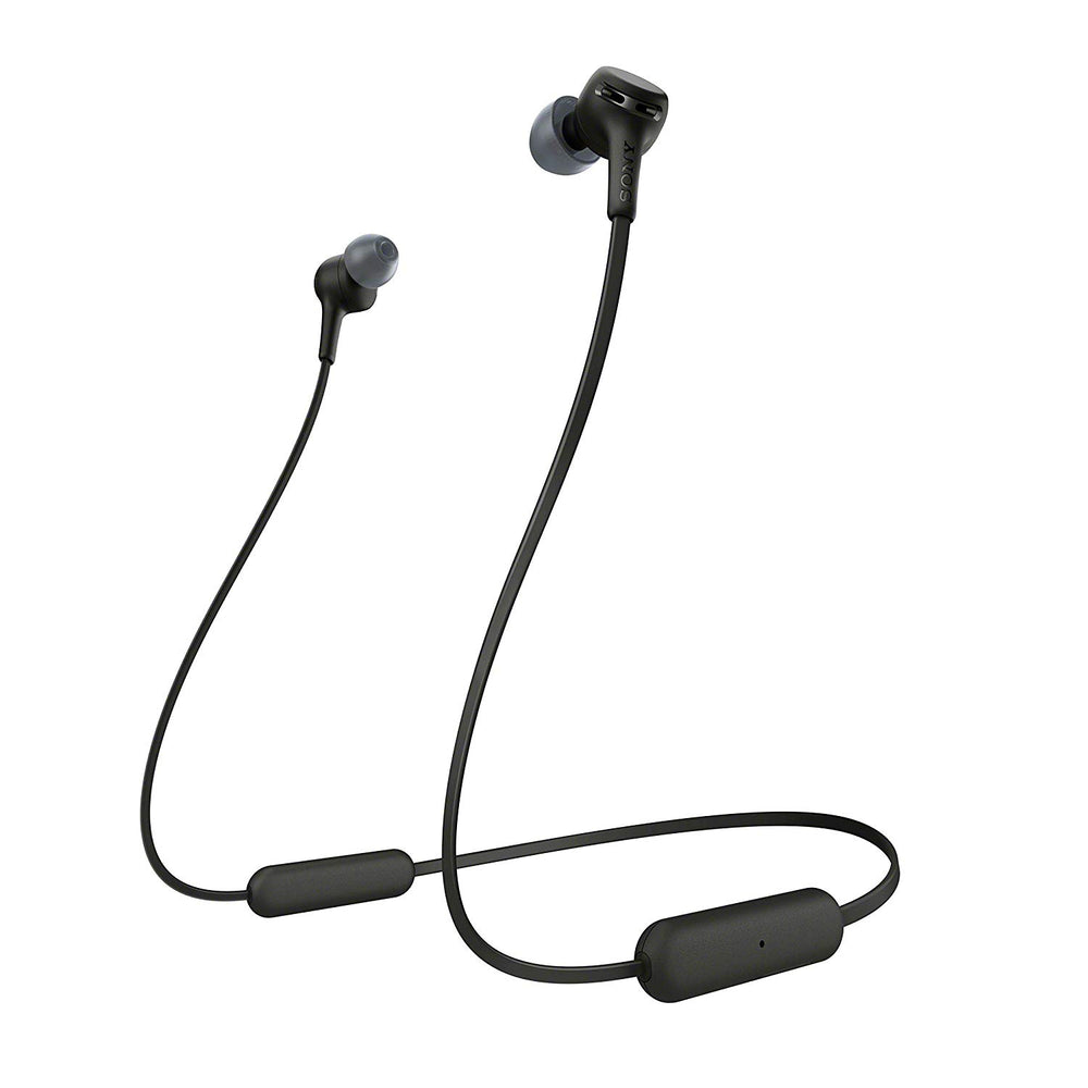 Sony WI-XB400 Wireless in-Ear Extra Bass Headphones with Neck-Band Design - Black