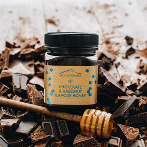 Mount Somers Chocolate & Hazelnut Flavour Honey