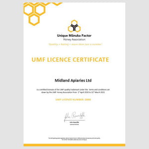 Mount Somers UMF Association Certificate