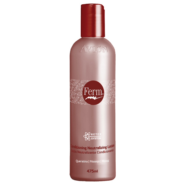 Ferm Retex - Conditioning Neutralizing Lotion 475ml - avlondobrasil