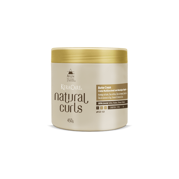 KeraCare Natural Curls - Butter Cream 450g - avlondobrasil