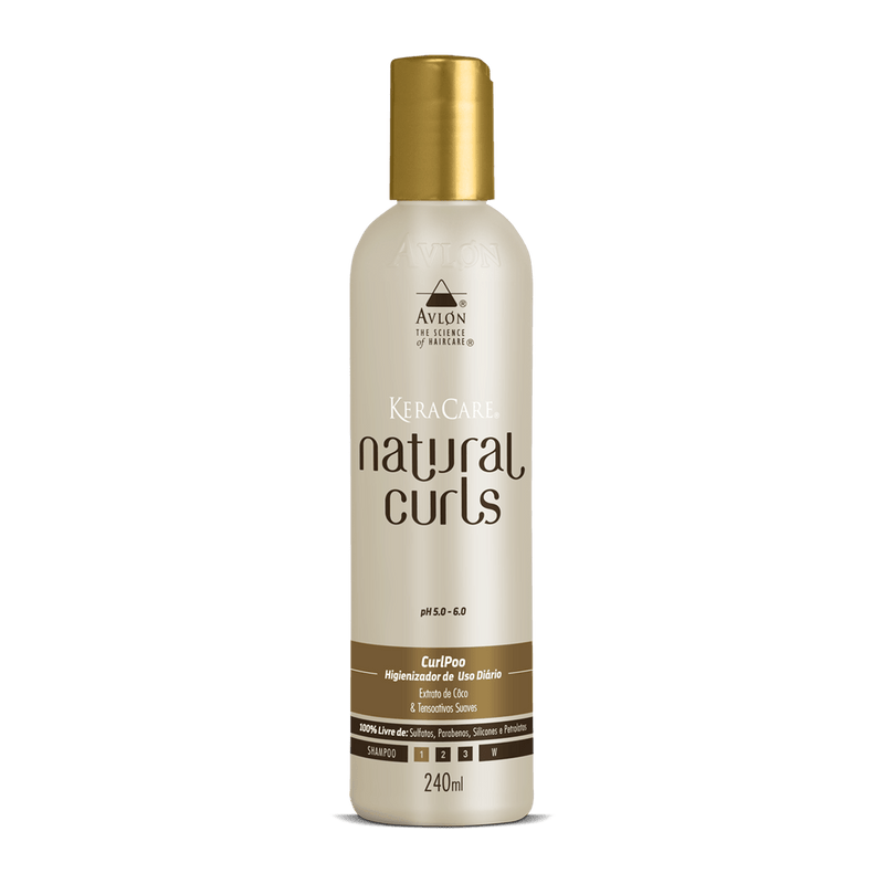 KeraCare Natural Curls - CurlPoo 240ml - avlondobrasil