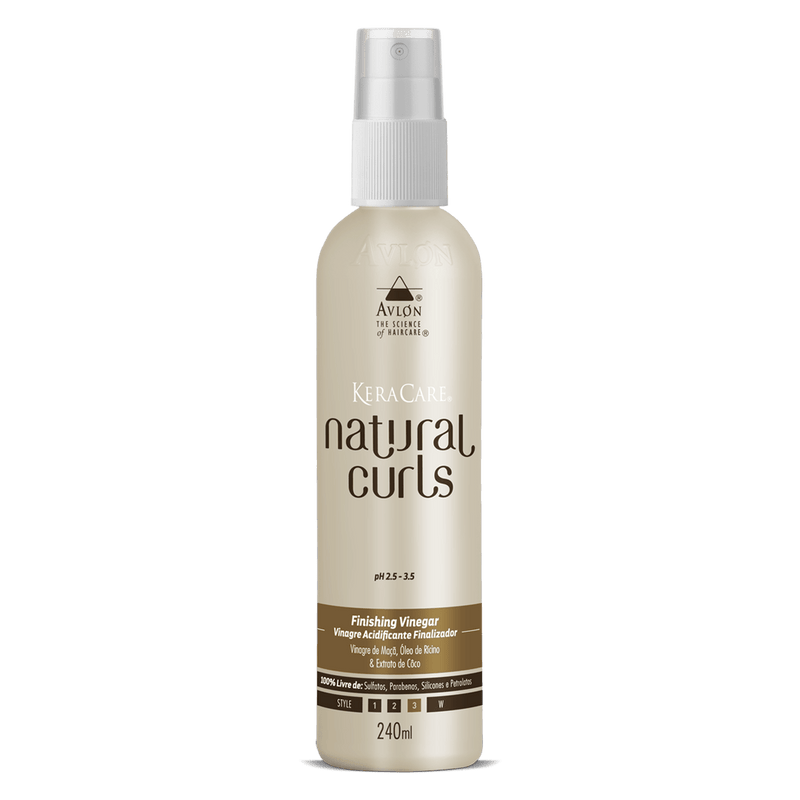 KeraCare Natural Curls - Finishing Vinegar 240ml - avlondobrasil