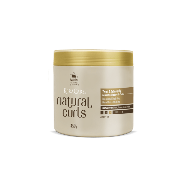 KeraCare Natural Curls - Twist & Define Jelly 450g - avlondobrasil