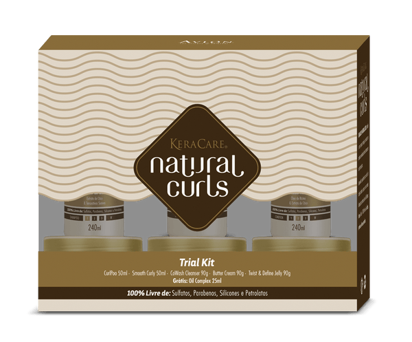 KeraCare Natural Curls - Trial Kit - avlondobrasil