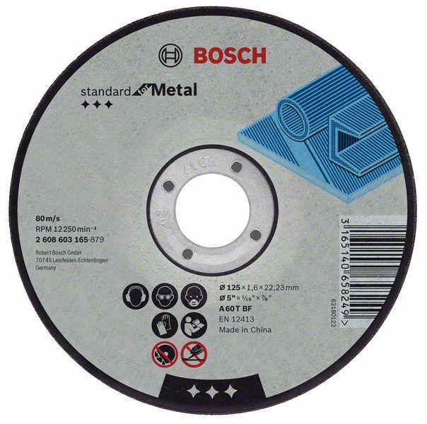 Bosch Grinding and cutting discs-Expert for cutting disc with straight centre, 100 mm, 16,00 mm, 2,5 mm