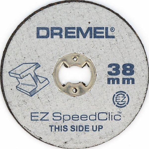 DREMEL® EZ SpeedClic: Metal Cutting Wheels 5-Pack.