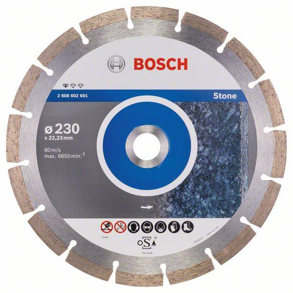 Bosch Diamond cutting discs-Professional for Stone 230 mm x 22,23 mm x 2,3 mm