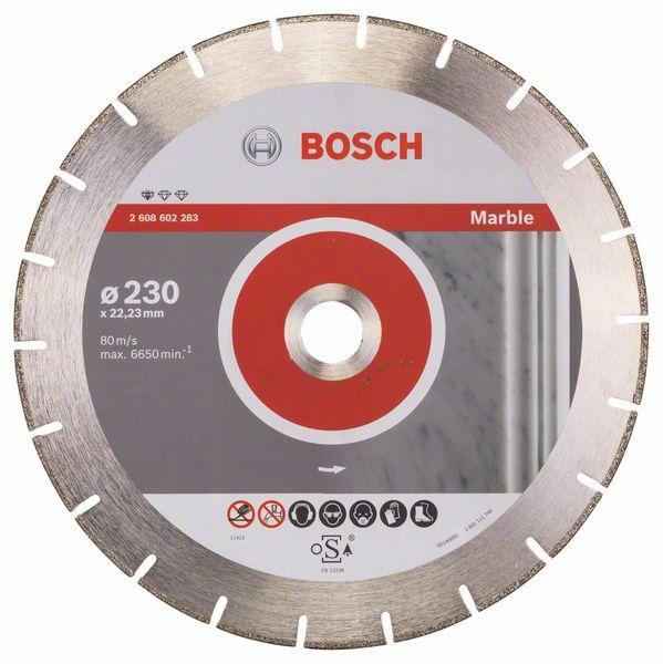 Bosch Diamond cutting discs-Professional for Marble 230 mm x 22,23 mm x 2,8 mm