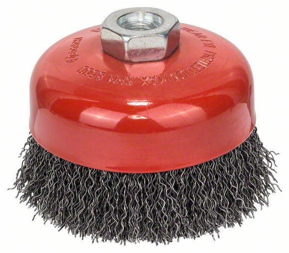 Bosch Brushing-Wire cup brush 100 mm, 0,5 mm, M14