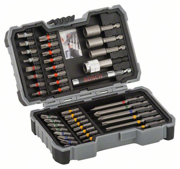 Bosch Screwdriver bits, sets-43-piece bit and nutsetter set