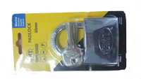 STANDARD  SHACKLE  DOUBLE LOCKING  CHROME PLATED  60MM-3KEYS