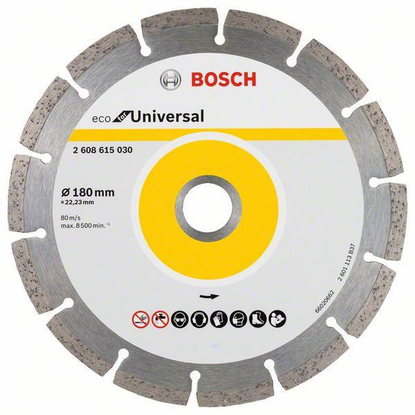 Bosch Diamond cutting discs-ECO for Universal 180mm x 22.25mm
