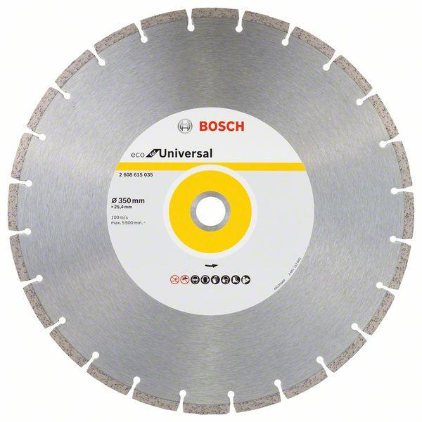 Bosch Diamond cutting discs-ECO for Universal 350mm x 25.4mm