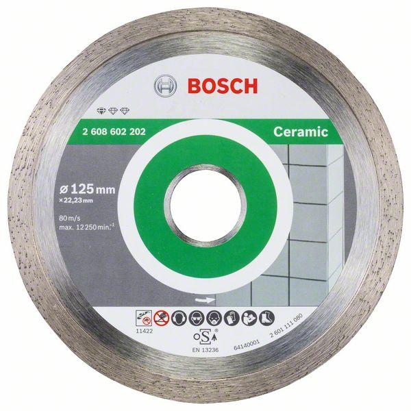 Bosch Diamond cutting discs-Professional for Ceramic 125 mm x 22,23 mm x 1,6 mm