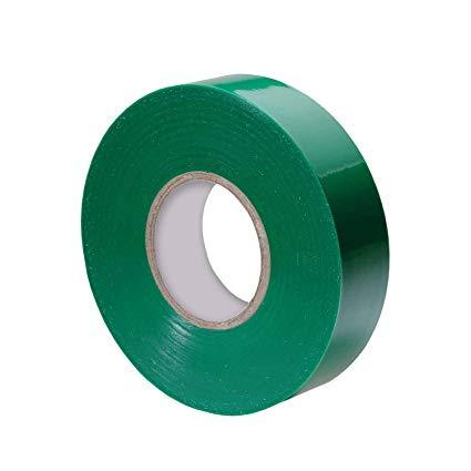 Electrical tape 19mmx10yrds green