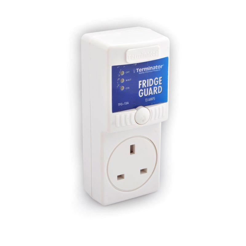 Fridge guard - 13A plug and socket in blister card
